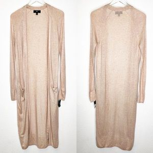 NWT Mossimo Cardigan Sweater Duster